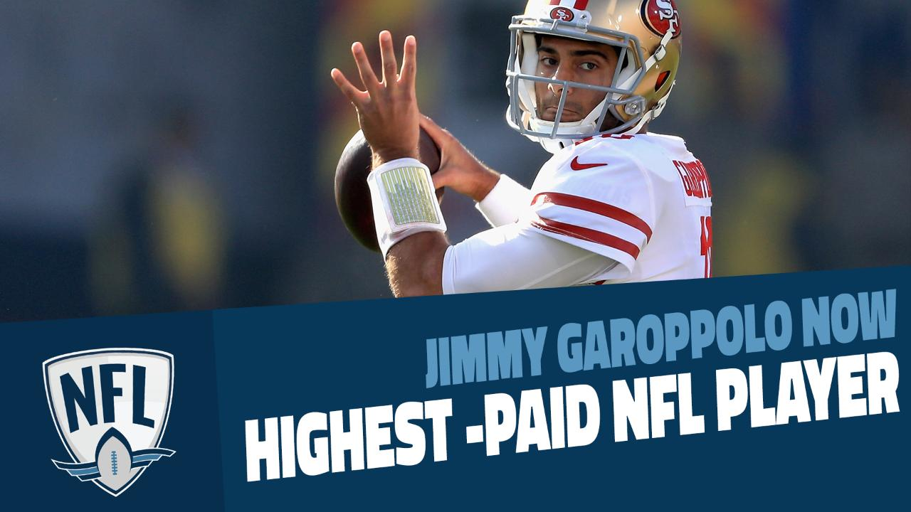 6a60d67d30e Jimmy Garoppolo  3 bold predictions for 49ers quarterback in 2018
