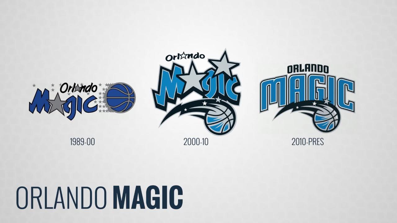 detailed look 14f8a 4e07c The Evolution of the Orlando Magic logo