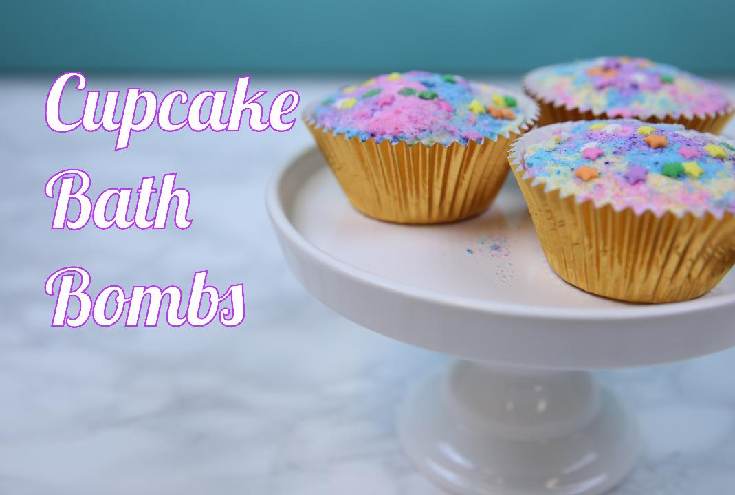 These DIY Cupcake Bath Bombs Will Make All Baths Sweeter