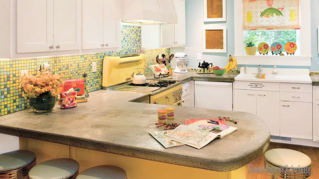Kitchen Layouts and Essential Spaces - Southern Living on ideas for cherry kitchen cabinets, ideas for kitchen color schemes, ideas for country kitchen cabinets, ideas for kitchen makeovers, ideas for organizing the kitchen,