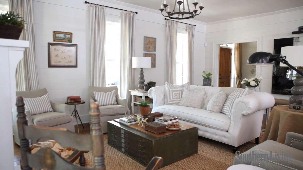 Farmhouse Renovation Living Room - Southern Living