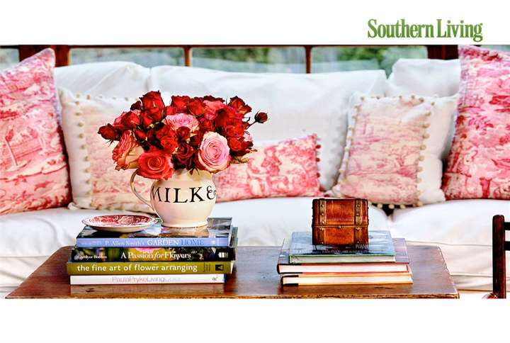 Southern Living Style Guide Using Small Pieces of Fabric - Southern ...