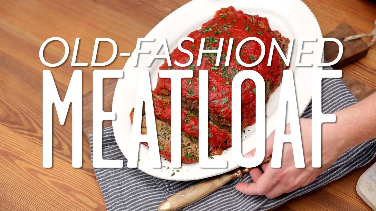 How To Make Old-Fashioned Meatloaf