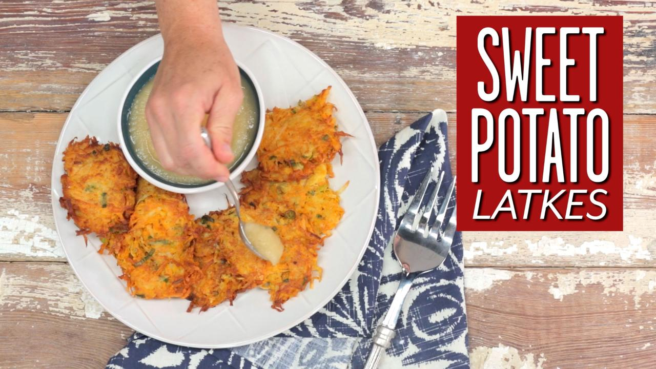How To Make Sweet Potato Latkes