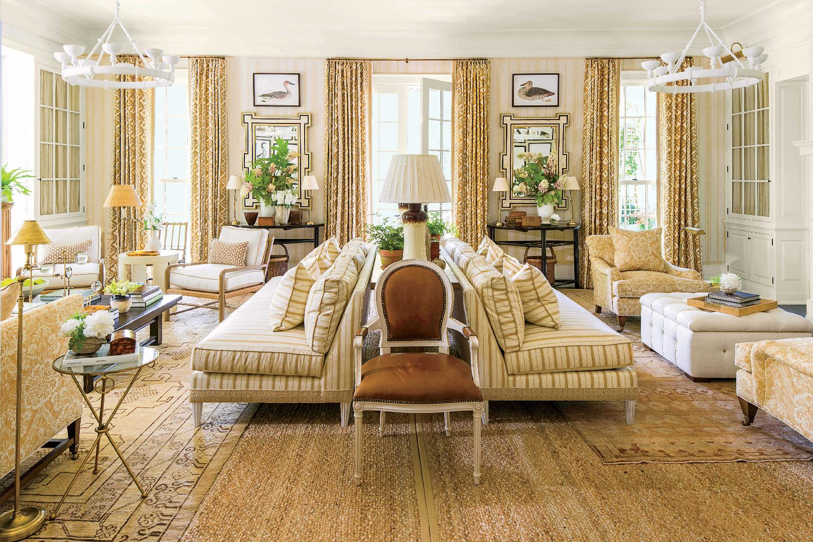 Idea House Living Room by Mark D. Sikes - Southern Living