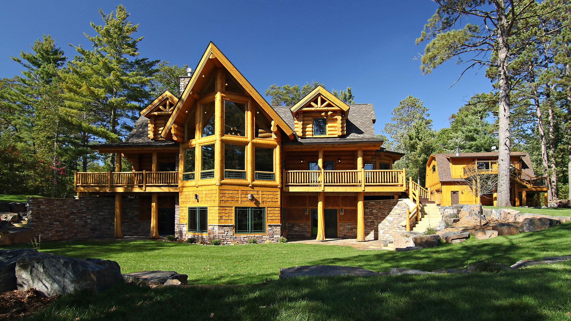 of house cabin full watch youtube home pioneer homes bc log cabins