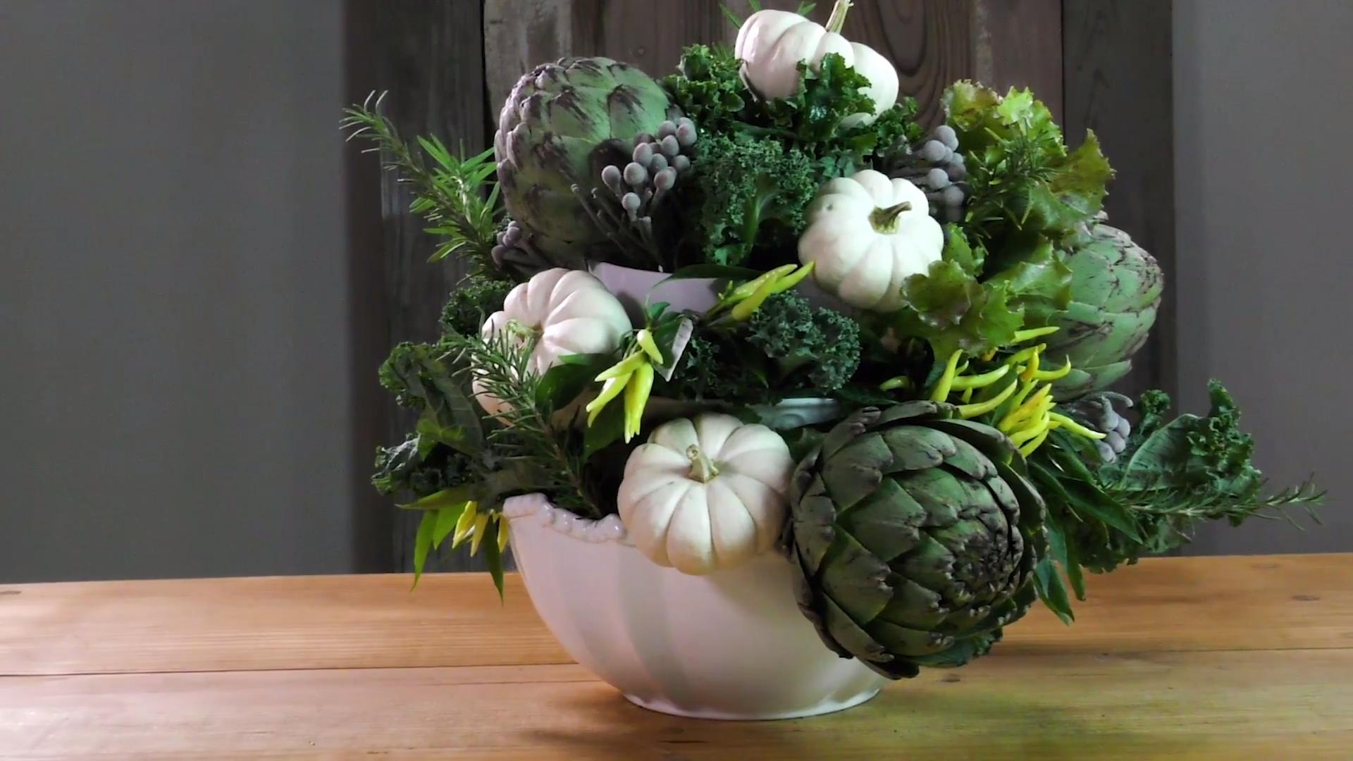 Here's How To Make A Pumpkin Topiary: