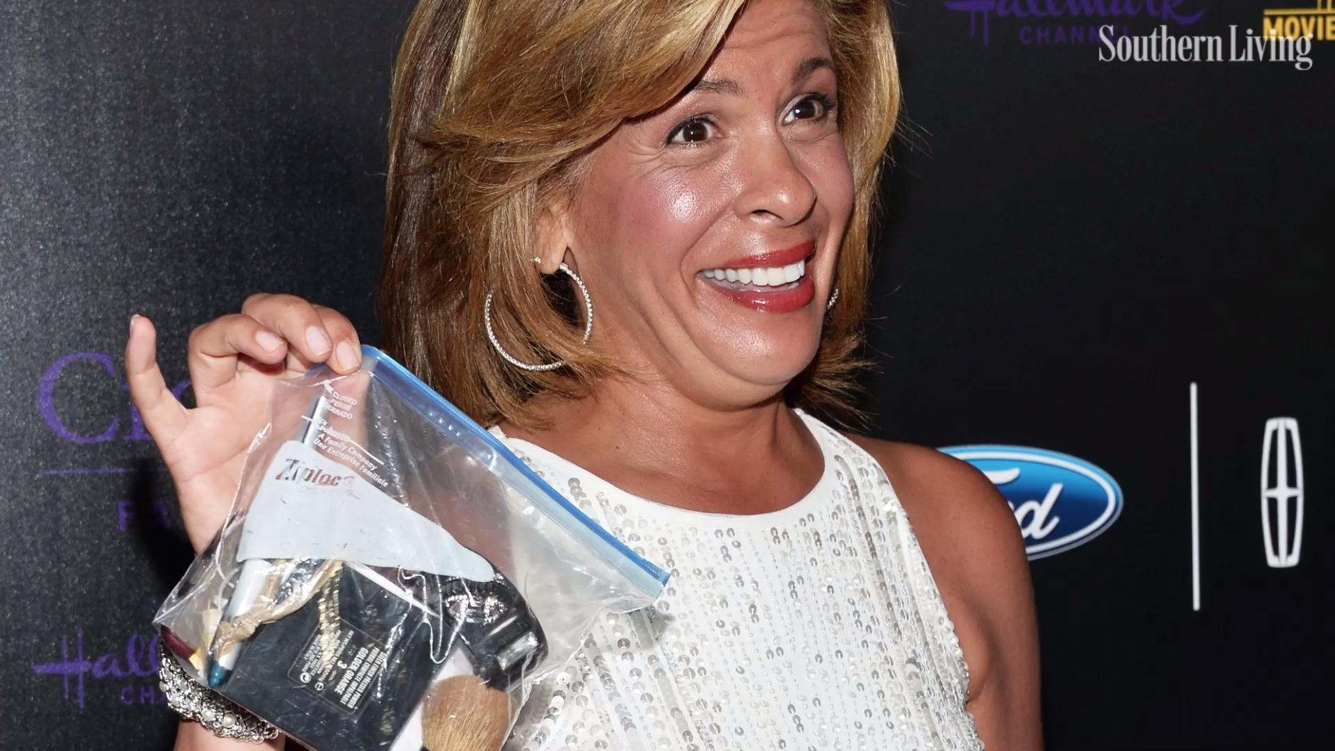 Hoda Kotb Used A Ziploc Bag As Purse