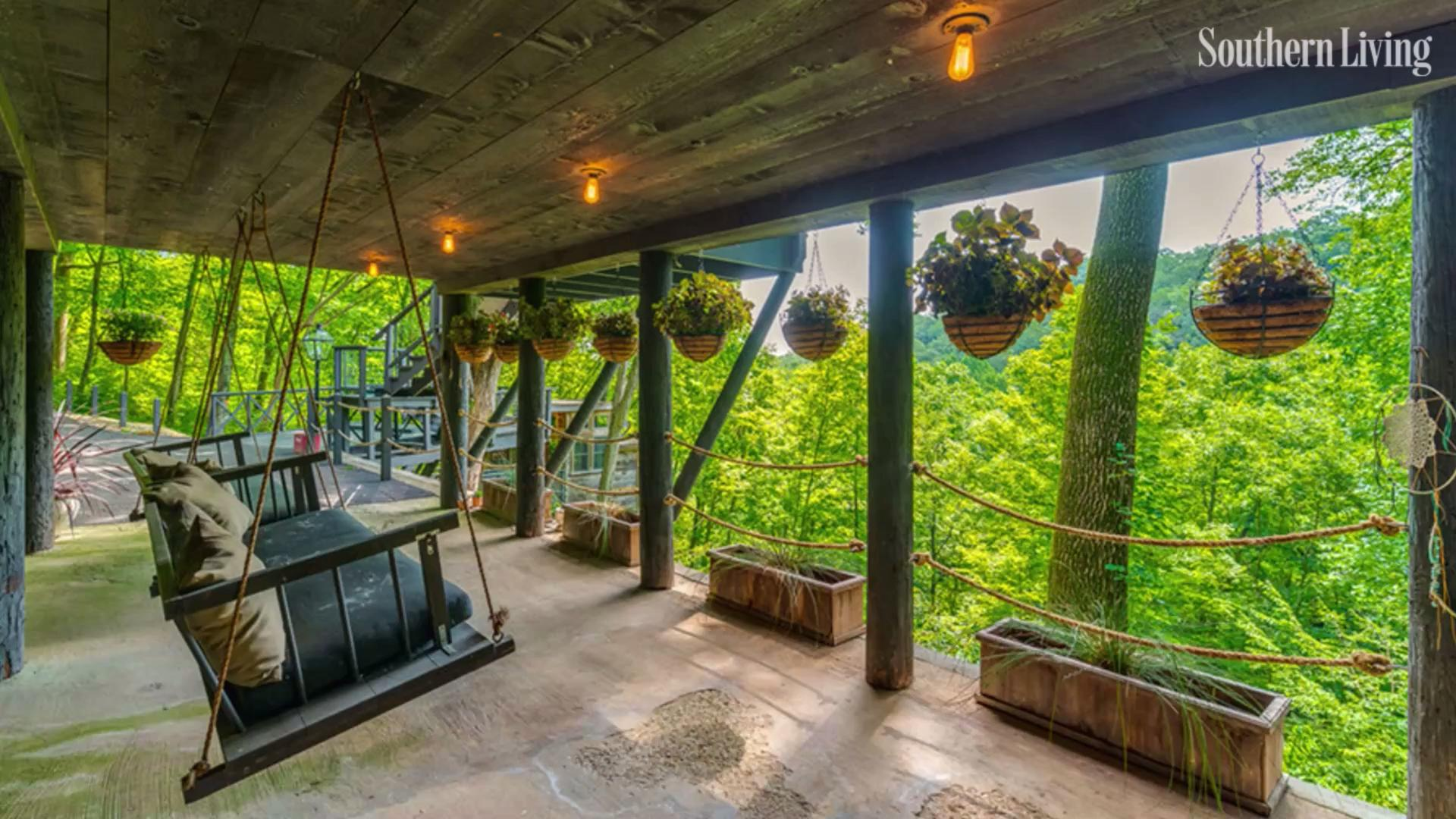 The Compound is Complete With Sprawling Views, a Treehouse, and a Party Barn