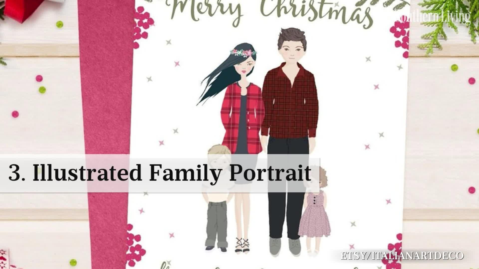 Our Favorite Festive Christmas Card Designs from Etsy