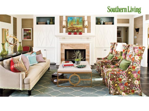 Formal Living Room Decorating Ideas - Southern Living