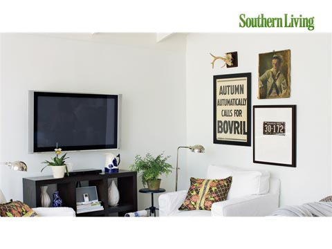 Living Room Media and Electronics Solutions - Southern Living