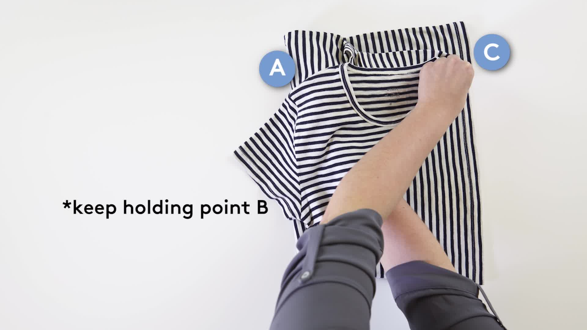 How to Fold a Shirt Video and Steps