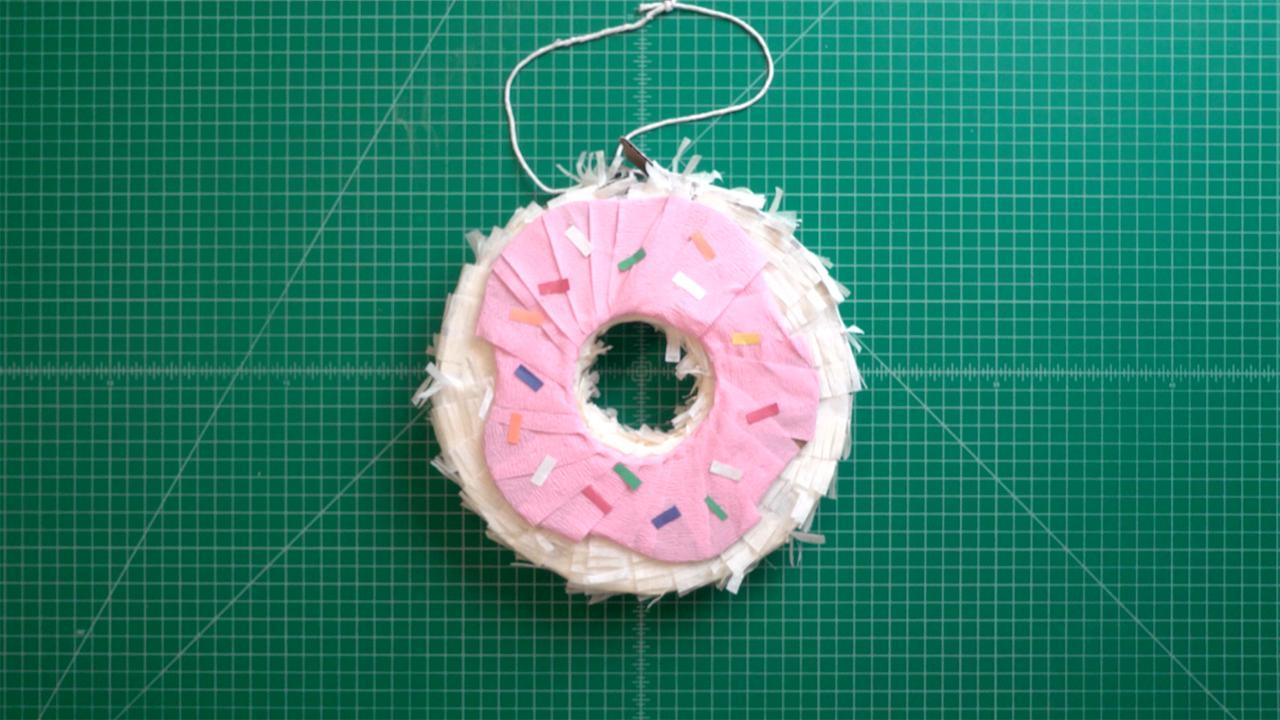 DIY Doughnut Piñata