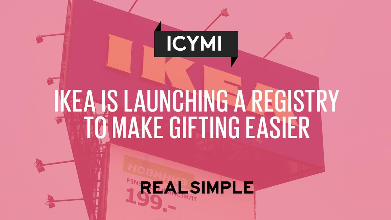 IKEA Is Launching a Registry to Make Gifting Easier