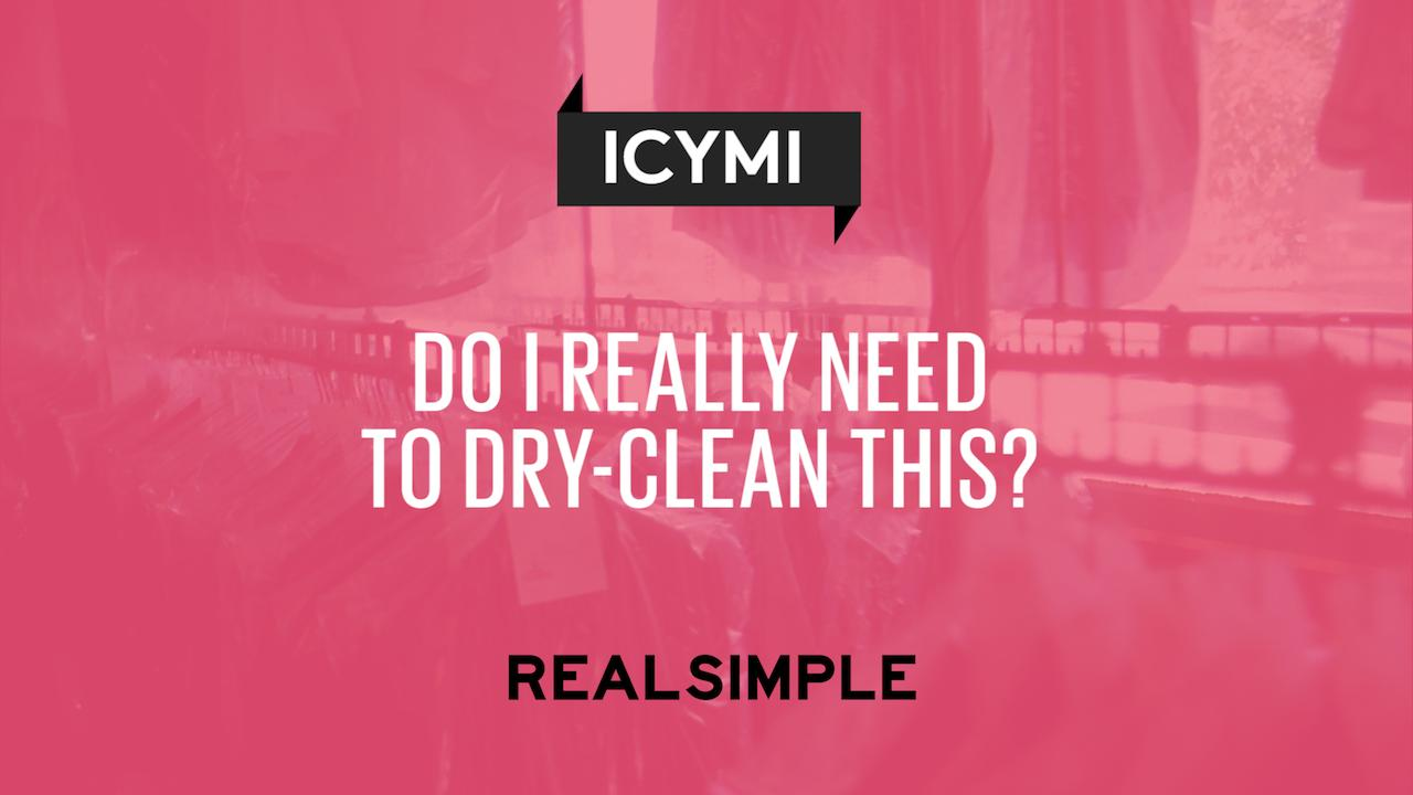 Do i really have to dry clean this real simple solutioingenieria Image collections