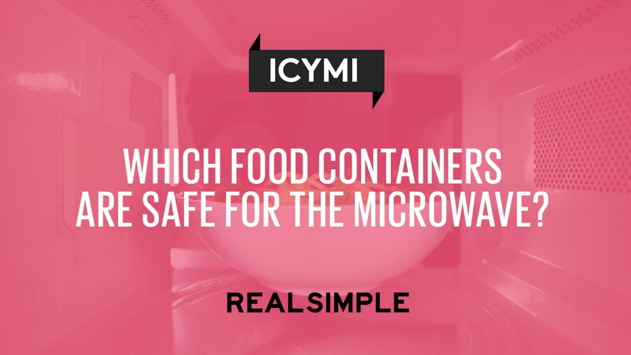 Which food containers are safe for the microwave real simple biocorpaavc Images