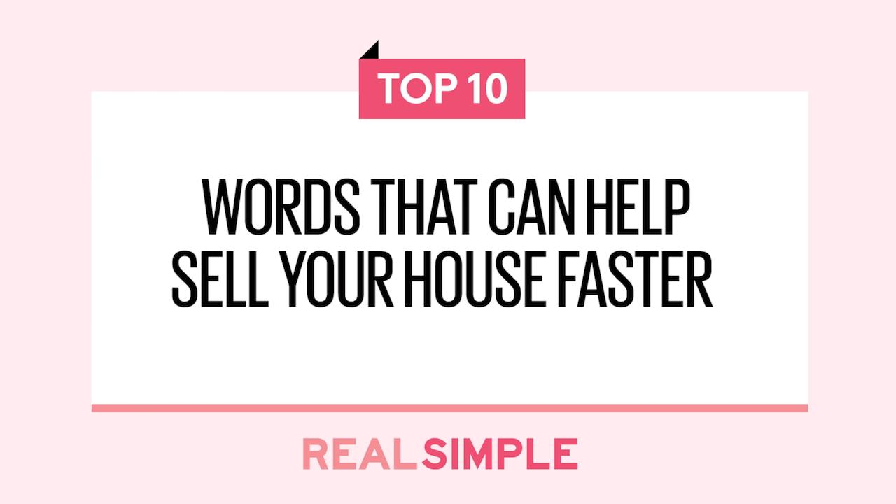 These Real Estate Listing Keywords Will Help Your House Sell – Simple Listing Words