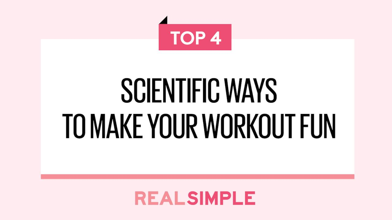 b2cffbe01e1a0 4 Scientific Ways to Make Your Workout Fun