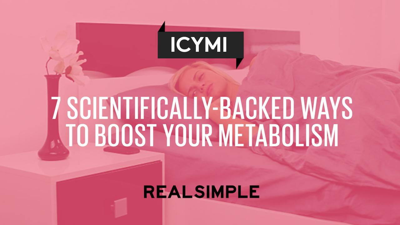 7 Scientifically-Backed Ways to Boost Your Metabolism