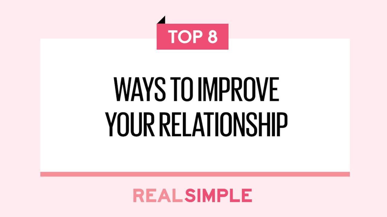 important things to do in a relationship