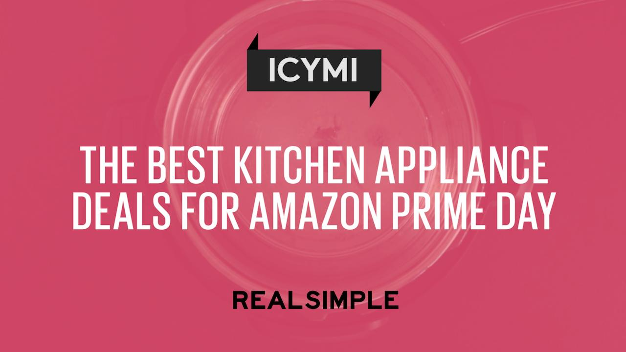The 3 Best Kitchen Appliance Deals To Shop Before Amazon Prime Day Is Over