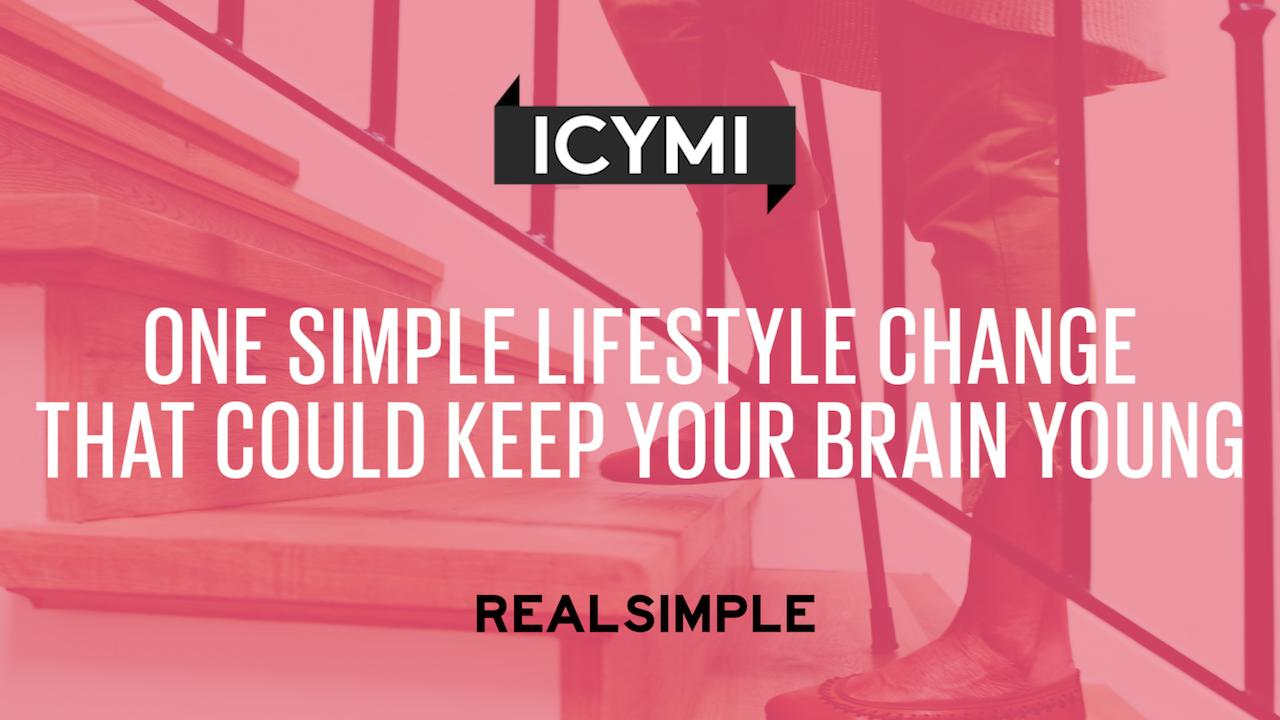One Simple Lifestyle Change That Could Keep Your Brain Young