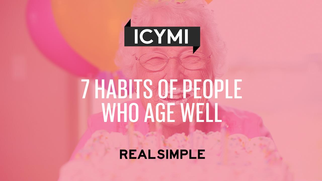 A 12-Step Plan for Aging Gracefully