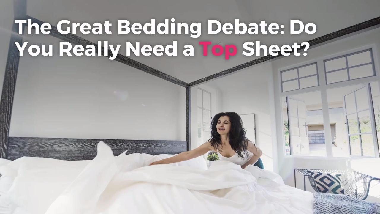 The Great Bedding Debate Do You Really Need A Top Sheet Real Simple