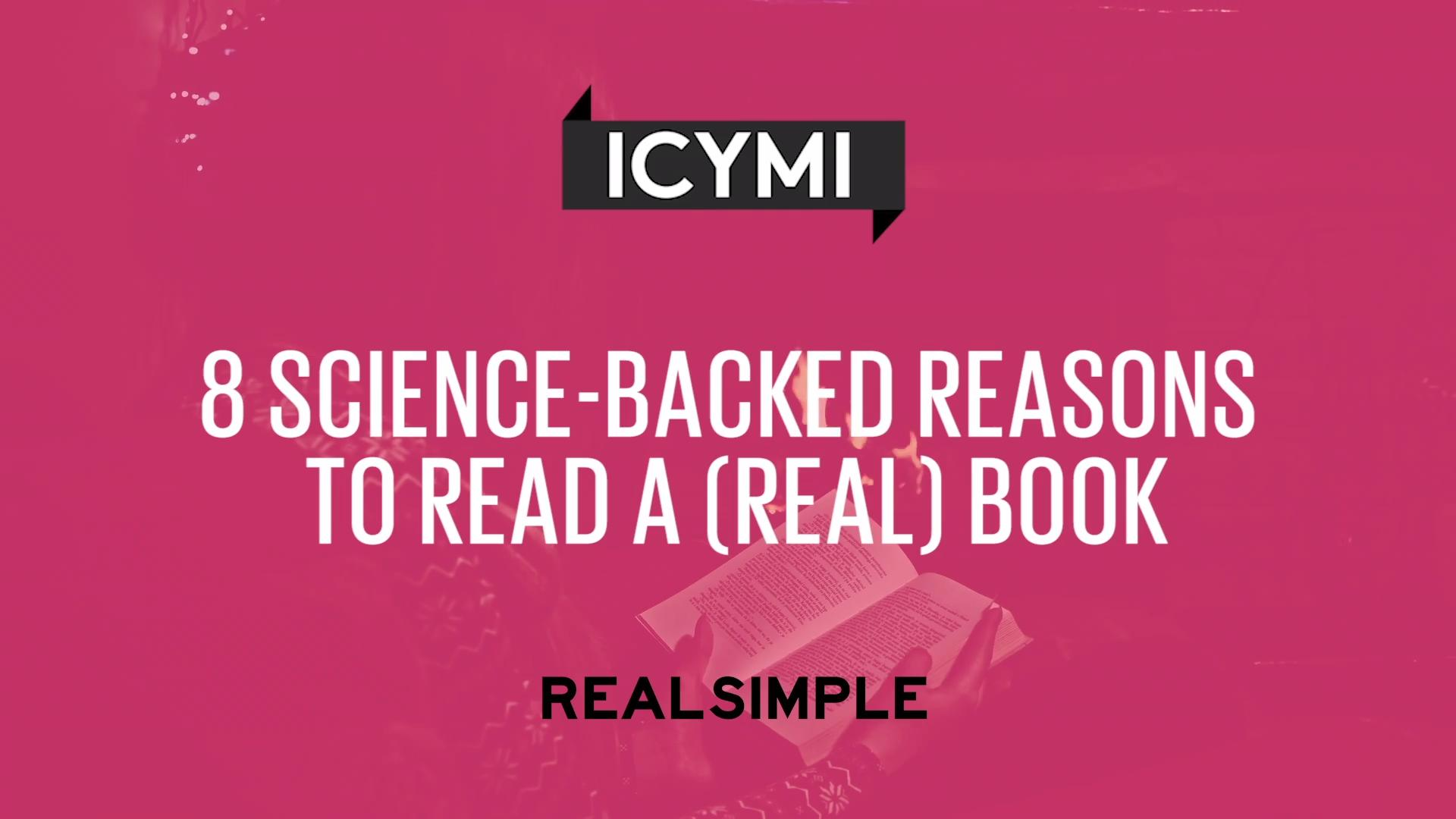 8 Science-Backed Benefits of Reading a (Real) Book | Real Simple