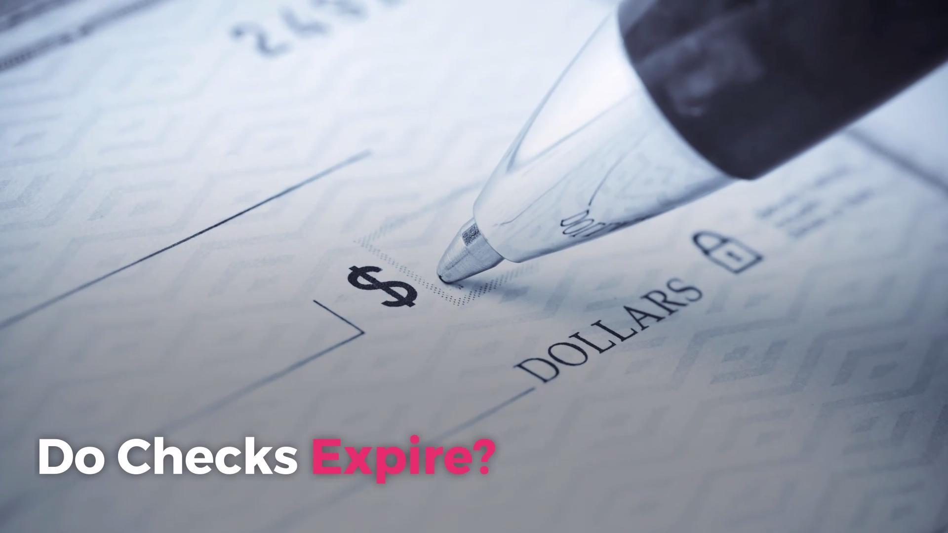 Do Checks Expire? - Real Simple