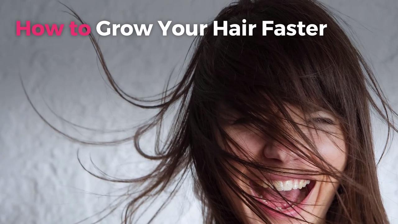 How To Grow Out Your Hair Faster Real Simple