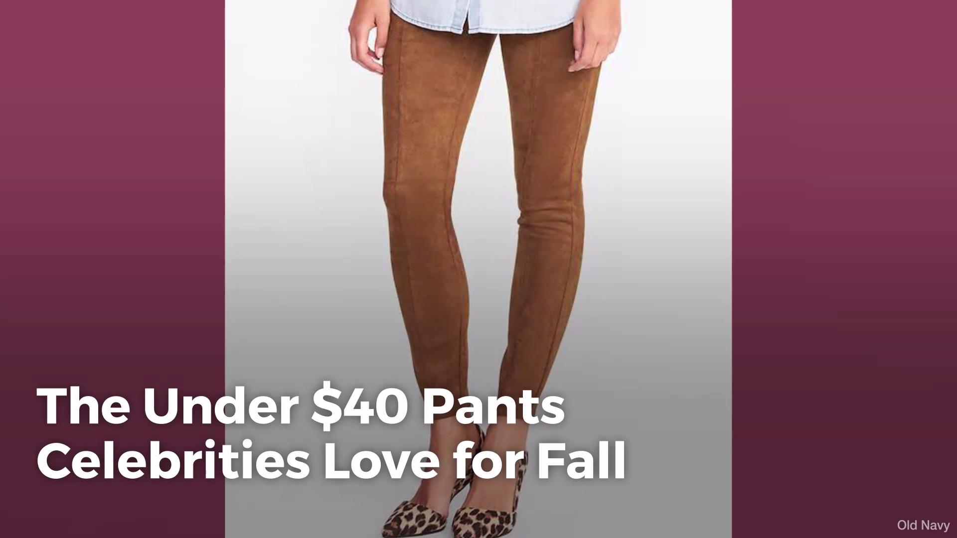 9a35fda250475 The Under  40 Pants Celebrities Love for Fall