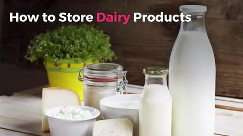 How to Store Dairy Products - Real Simple