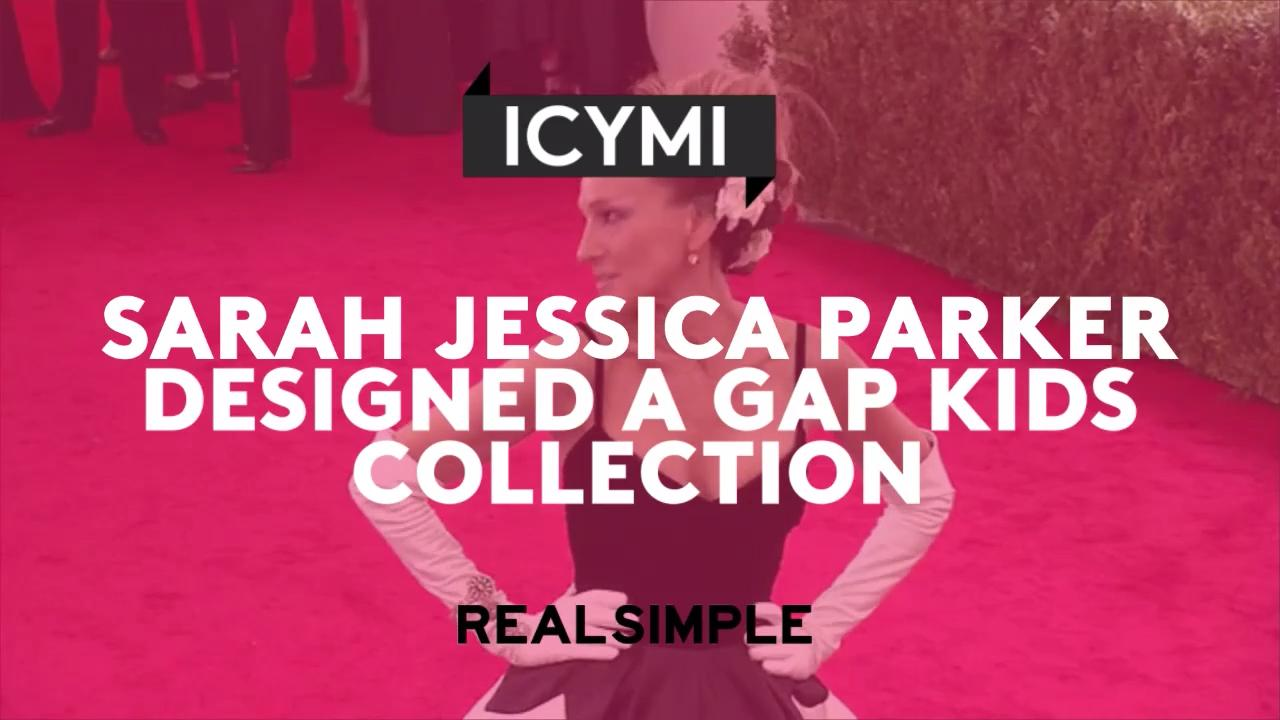 d3f8dc6ef0 Sarah Jessica Parker Designed a Gap Kids Collection—We Demand One for  Grown-Ups, Too! | Real Simple