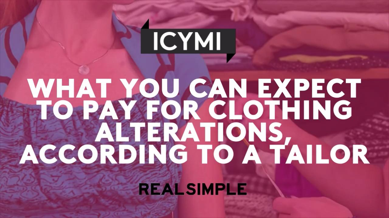 3d95e002d38 What Clothing Alterations Cost - Real Simple