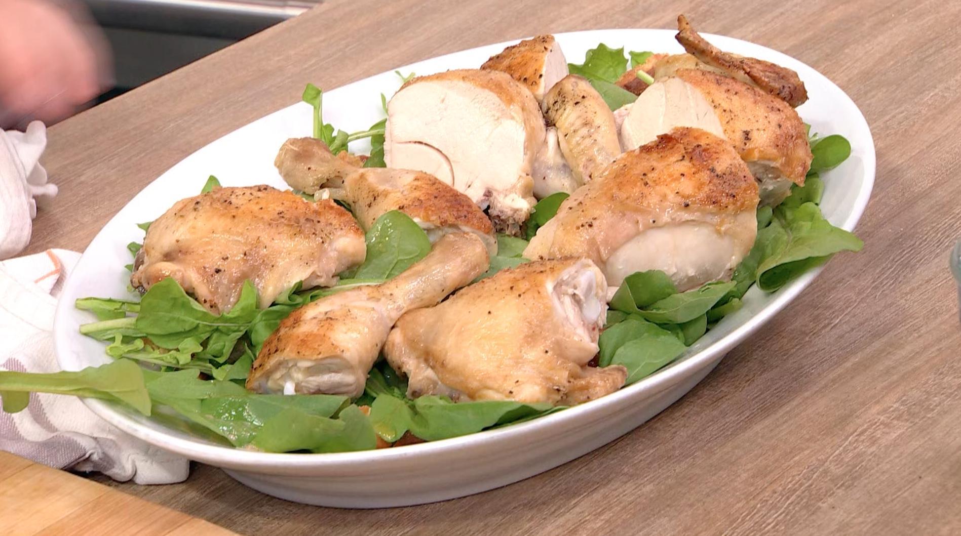 The Crispiest, Juiciest, 30-Minute Roast Chicken