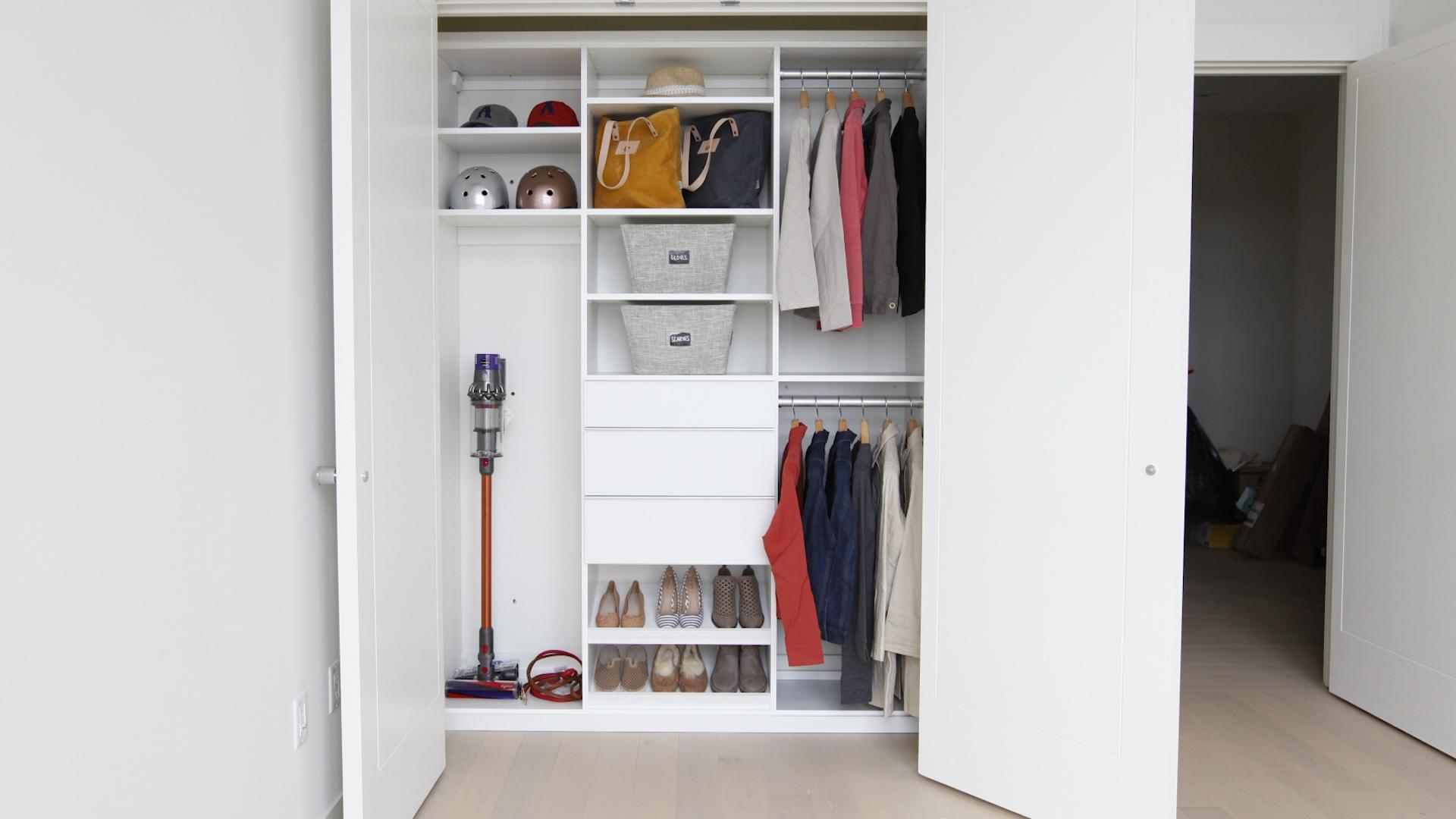 6 Entryway Closet Organizing Ideas To Simplify Your Morning Routine Real Simple