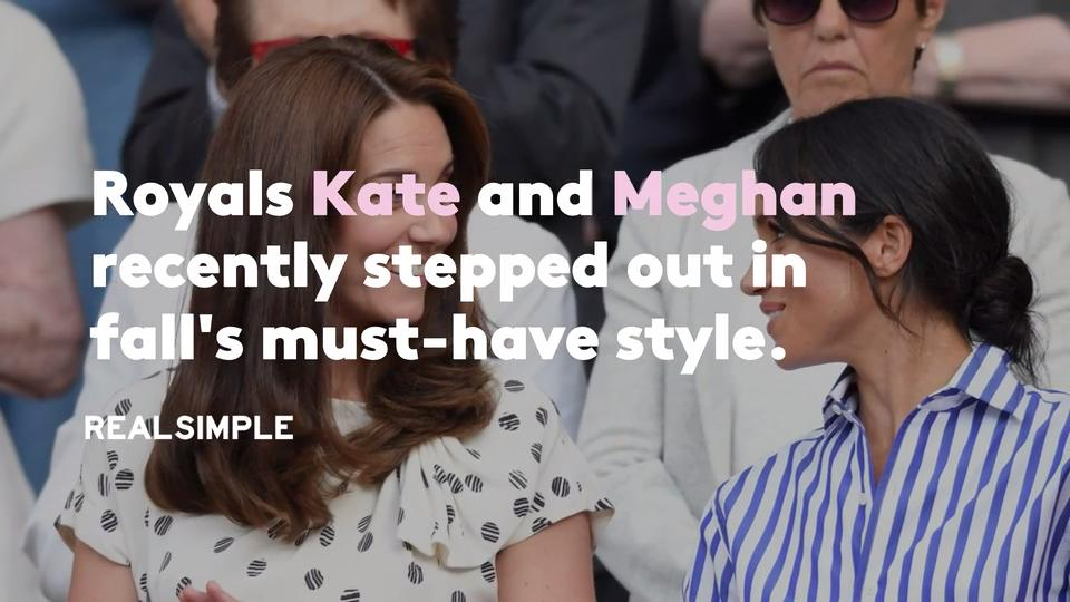 b0e97d4672f6 How to Copy Meghan Markle and Kate Middleton's Blazer Looks | Real Simple