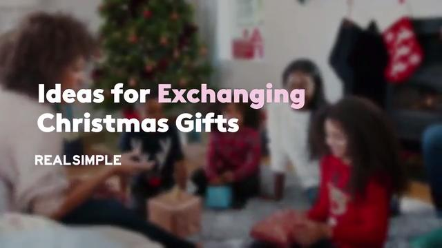 dc74652d5242 28 Ideas for Exchanging Christmas Gifts - Real Simple