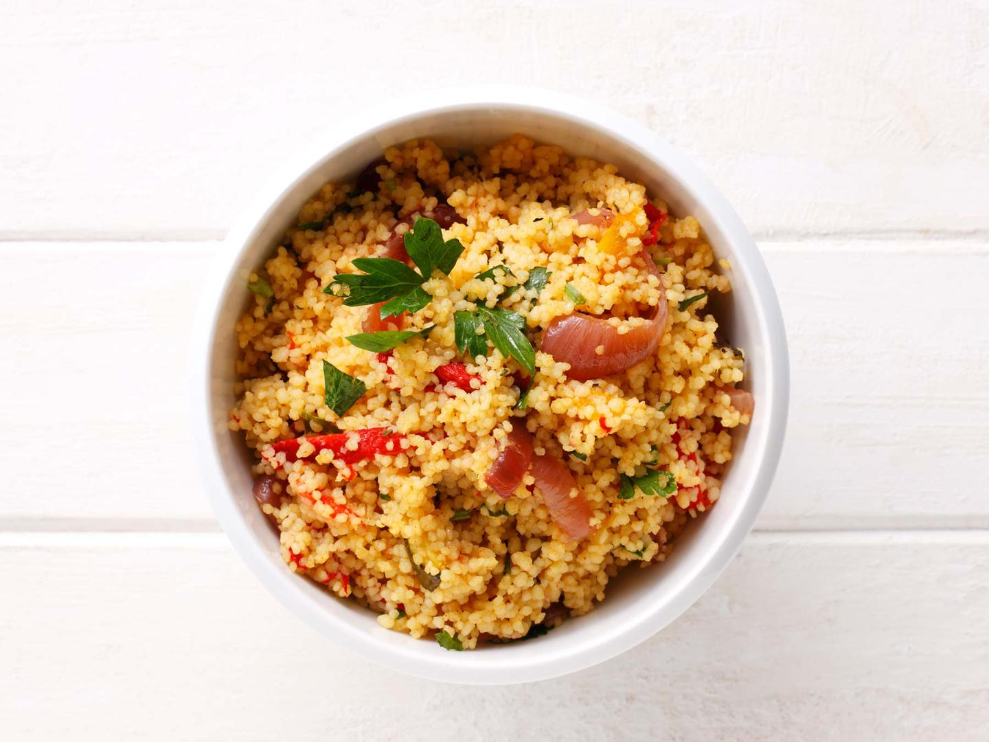 How to cook fluffy couscous