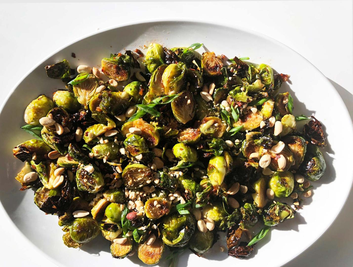 Kung Pow Brussel Sprouts cover image