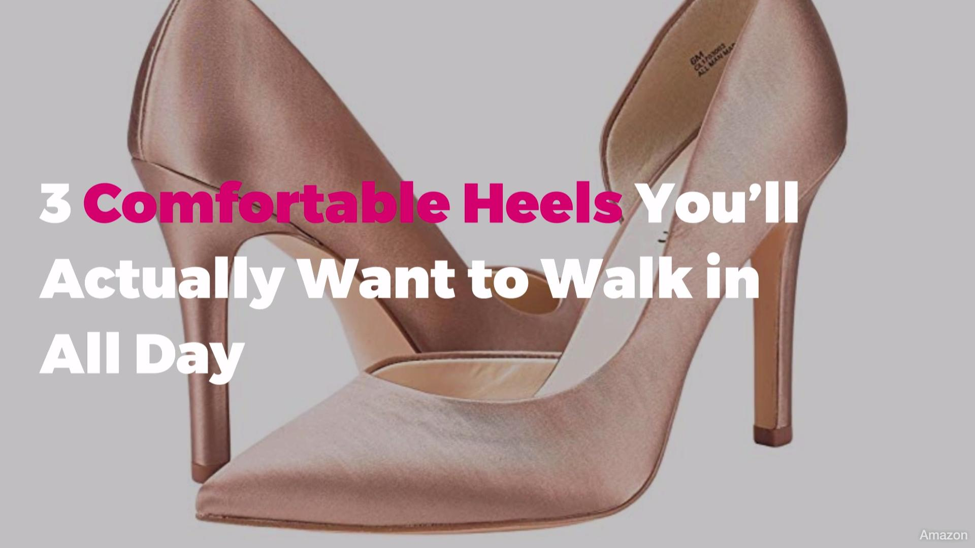 5cdca10670cd0 3 Comfortable Heels You'll Actually Want to Walk in All Day   Real ...