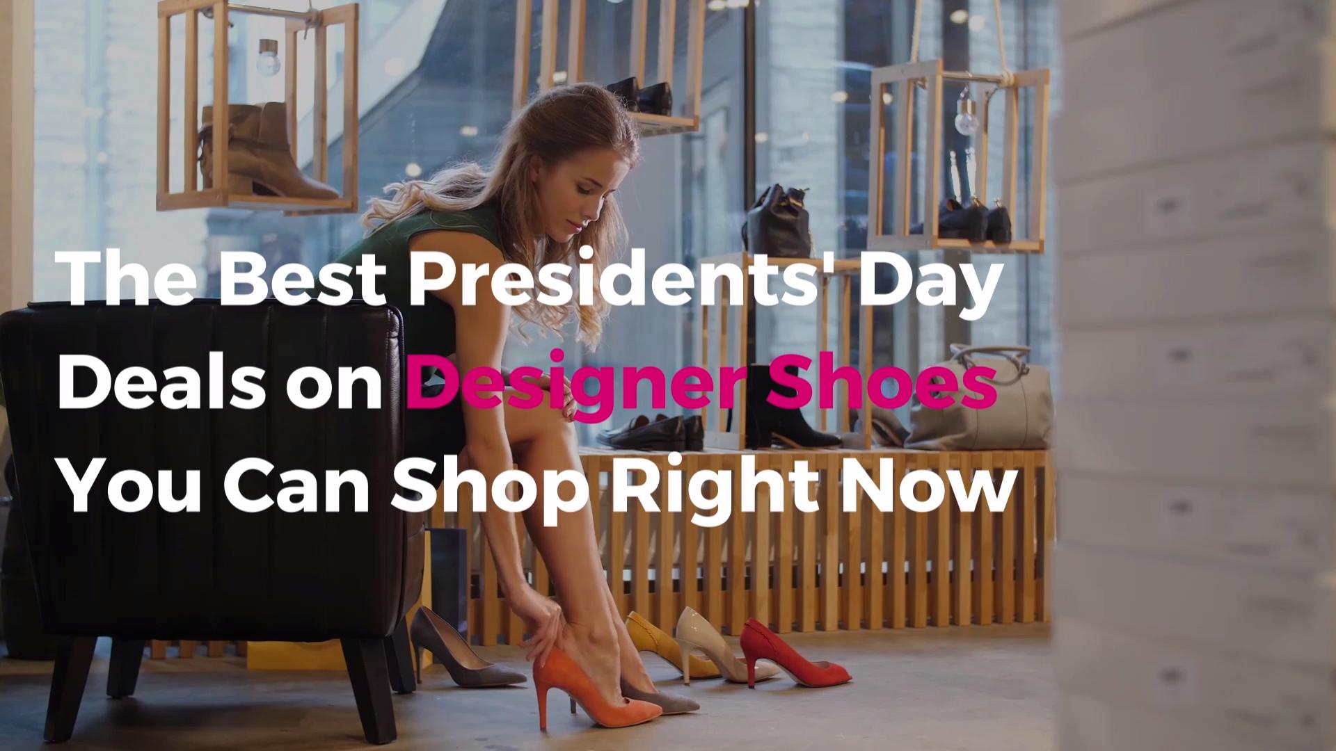 The Best Presidents' Day Deals on Designer Shoes You Can Shop Right Now