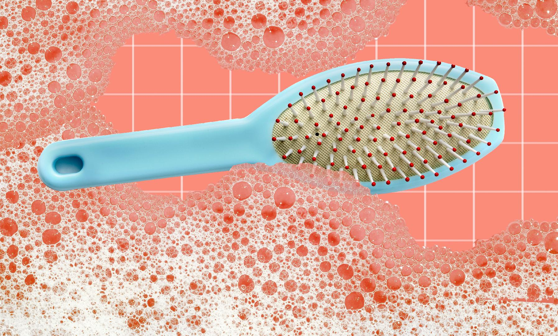How to Clean a Hairbrush Video and Steps