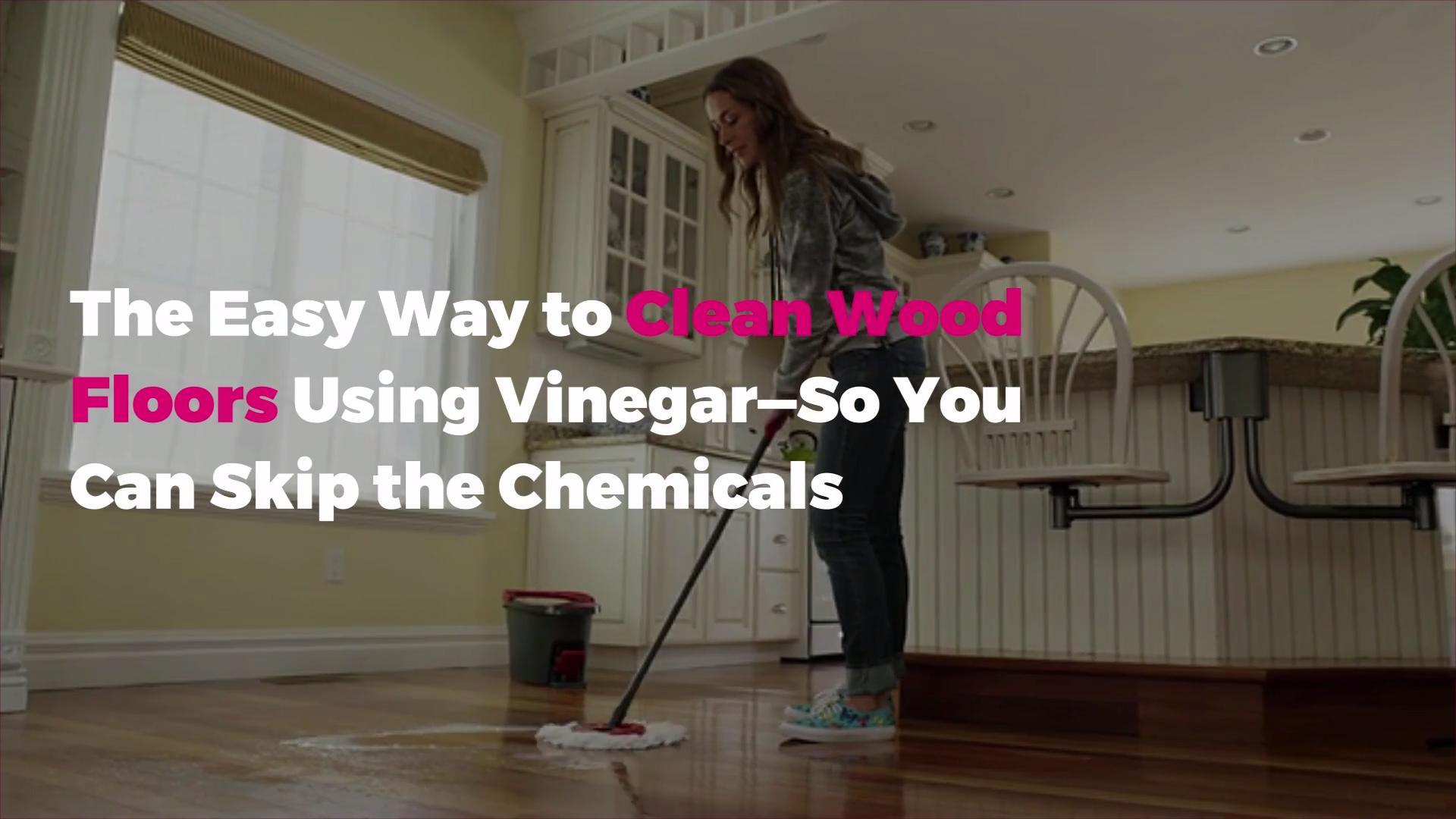 Cleaning Wood Floors With Vinegar Is
