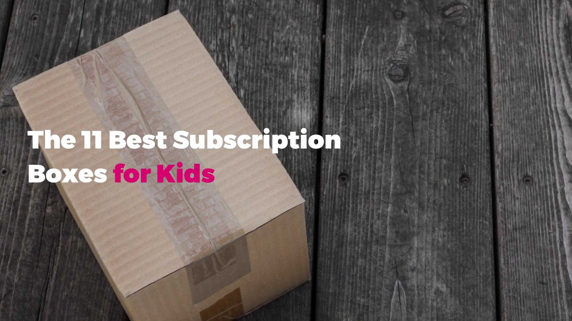 The 11 Best Back-to-School Subscription Boxes for Kids