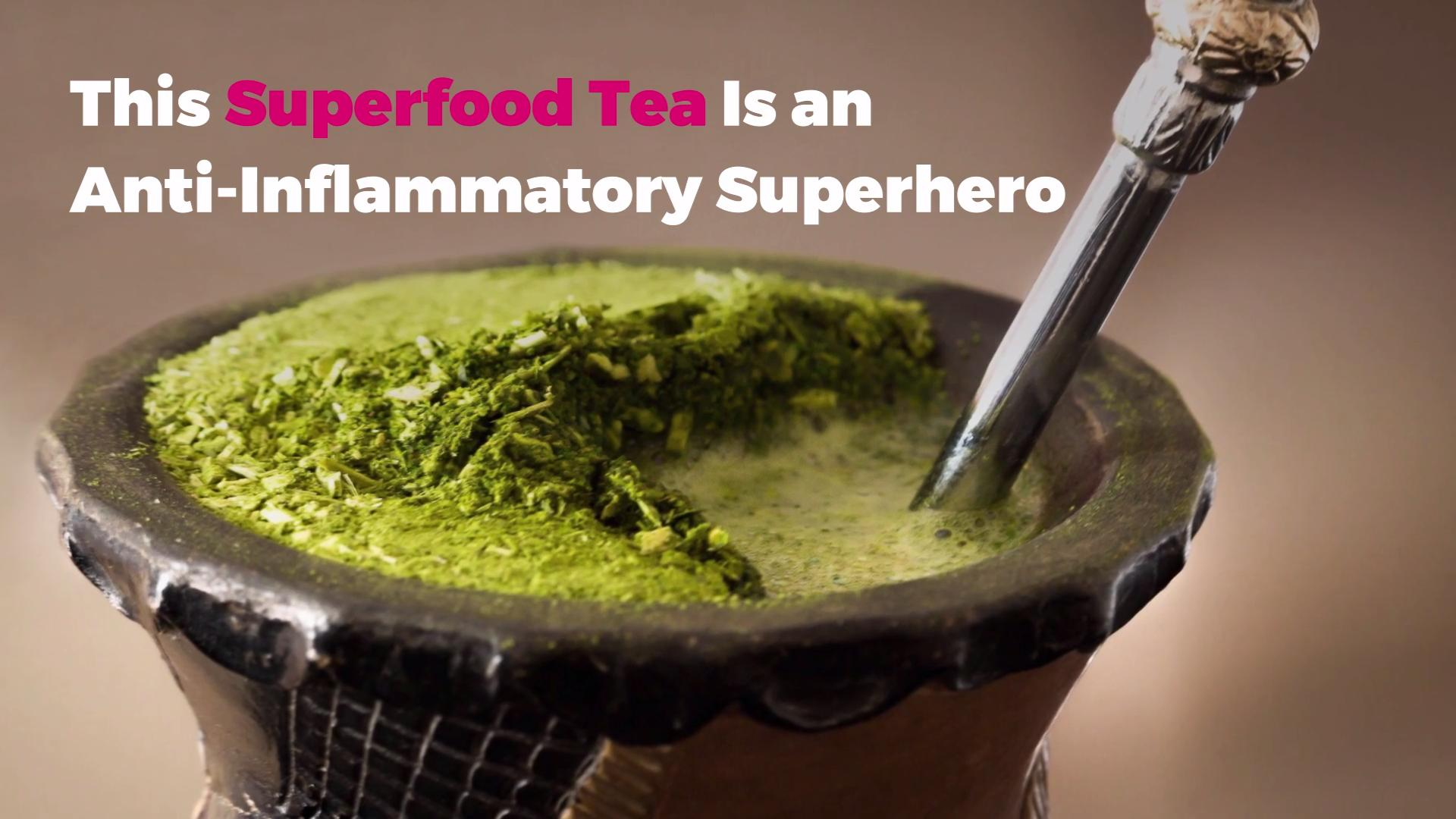 This Superfood Tea Is an Anti-Inflammatory Superhero