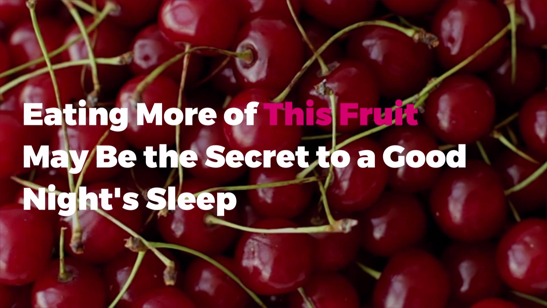 Eating More of This Fruit May Be the Secret to a Good Night's Sleep