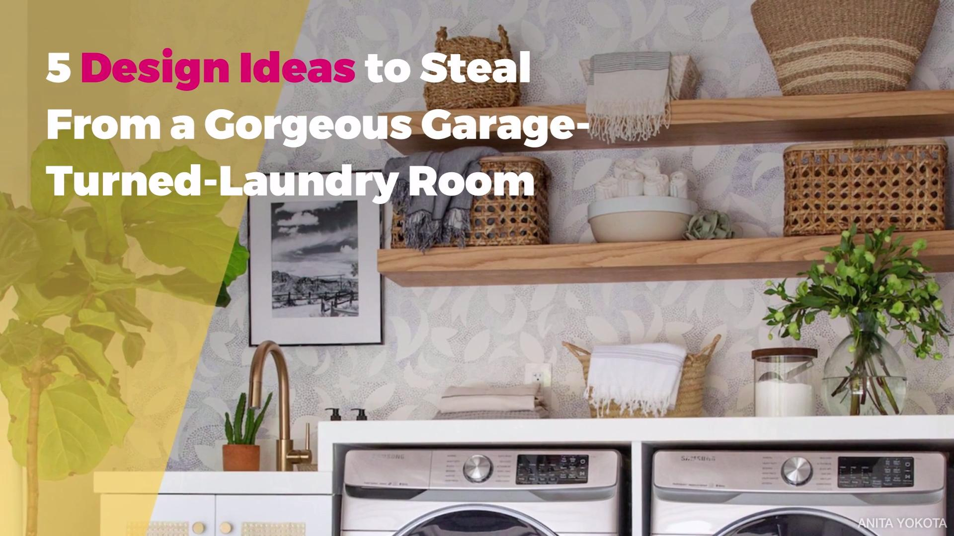 Design Ideas From a Gorgeous Garage-Turned-Laundry Room ...